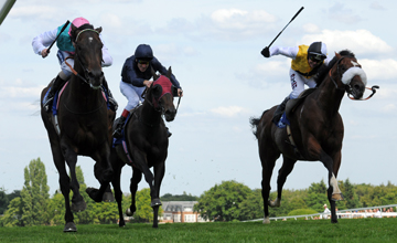 Twice Over wins the Coral Eclipse Sandown 03.07.2010
