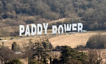 Paddy Power sign