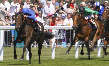 Hibaayeb wins the Ribblesdale Stakes Royal Ascot 17.06.2010