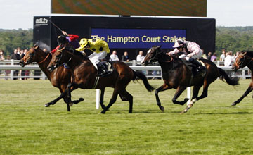 Afsare wins the Hampton Court Stakes Royal Ascot 17.06.2010
