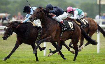 Mikhail Glinka beats Theology in the Queen's Vase Royal Ascot 18.06.2010