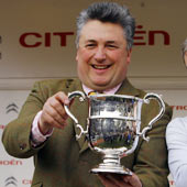 Paul Nicholls Top Trainer Cheltenham Festival 2009