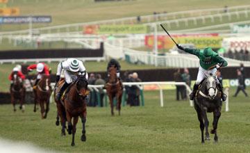 Soldatino wins the Triumph hurdle Cheltenham 19.03.2010