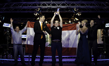 Nicolas Chouity: eliminated all but one of his opponents at the final table