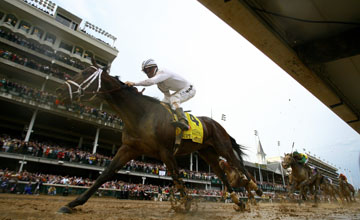 Super Saver Wins Kentucky Derby At Churchill Downs