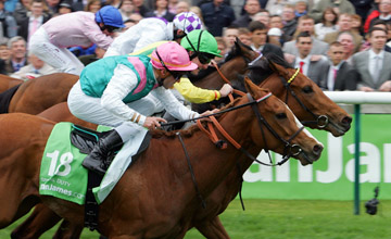 Special Duty Wins the 1000 Guineas from Jacqueline Quest Newmarket 02.05.2010