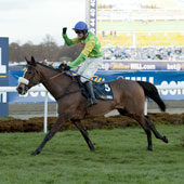 Kauto Star and Ruby Walsh win the King George for the 4th time Kempton