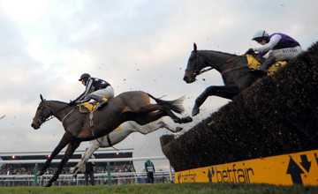 Imperial Commander wins the Betfair Chase Haydock 20.11.2010