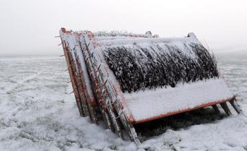 Punchestown Weather Frozen Hurdles 27.11.2010