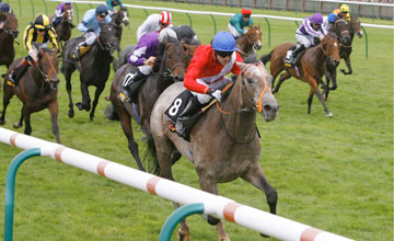Fury wins the Tattersalls Millions 2YO Trophy at Newmarket 02.10.2010