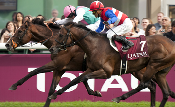 Workforce beats Nakayama Festa to win the Arc Longchamp 03.10.2010