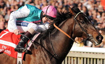 Twice Over wins the Champion Stakes - Newmarket 16.10.10