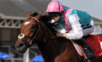 Frankel easily wins the Frank Whittle Conditions Stakes Doncaster 10.09.2010