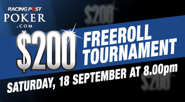 Freeroll tournament