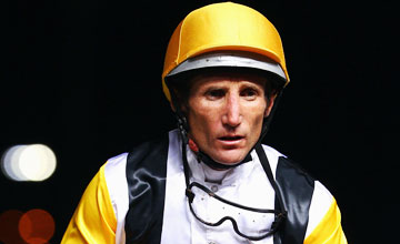 Damien Oliver - Manikato Stakes Night at Moonee Valley Racecourse 24.09.2010