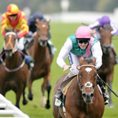 Frankel wins The Juddmonte Royal Lodge Stakes at Ascot 25.09.2010