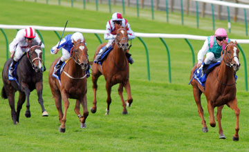 Special Duty wins Cheveley Park Nemarket 02.10.09