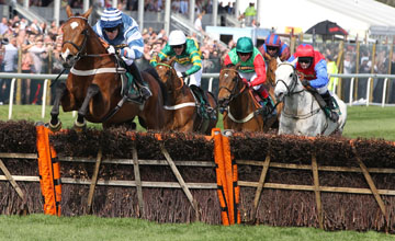 Oscar Whisky wins at Aintree 9/04/2011