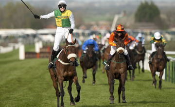Ballabriggs (Jason Maguire) wins the Grand National Aintree 9.4.11