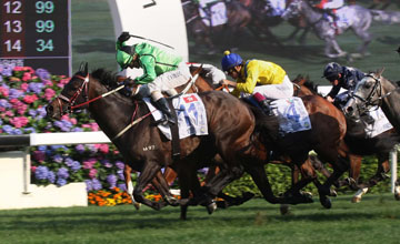 Xtension - Champion Mile, Sha Tin - 25.04.2011