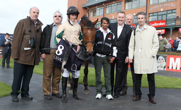 Lambro & connections after winning at Fairyhouse 26.04.2011