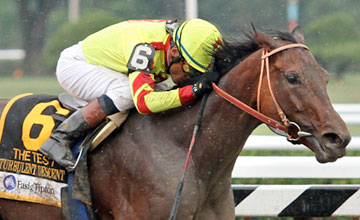 Turbulent Descent - Grade I Test Stakes - Saratoga 8/6/11