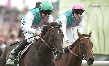 Twice Over and Midday - Juddmonte International at York 17.08.11