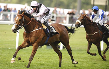 Hoof It - Kieren Fallon - Goodwood 2011