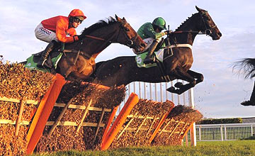 Brampour (left) - Grandouet - Cheltenham - December 2011