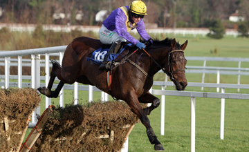 So Young ridden by Paul Townend wins the Madigans Maiden Hurdle Leopardstown