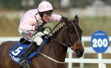 Oscars Well and Robbie Power win the Deloitte Novice Hurdle Leopardstown 12.02.2011