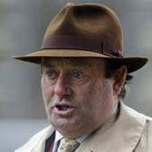Nicky Henderson at Ascot 19.02.2011