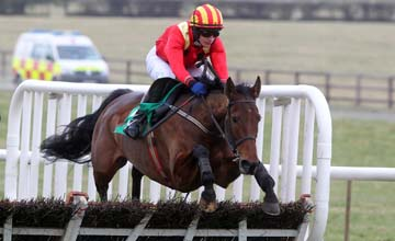 Dare To Doubt wins at Naas 20.02.2011