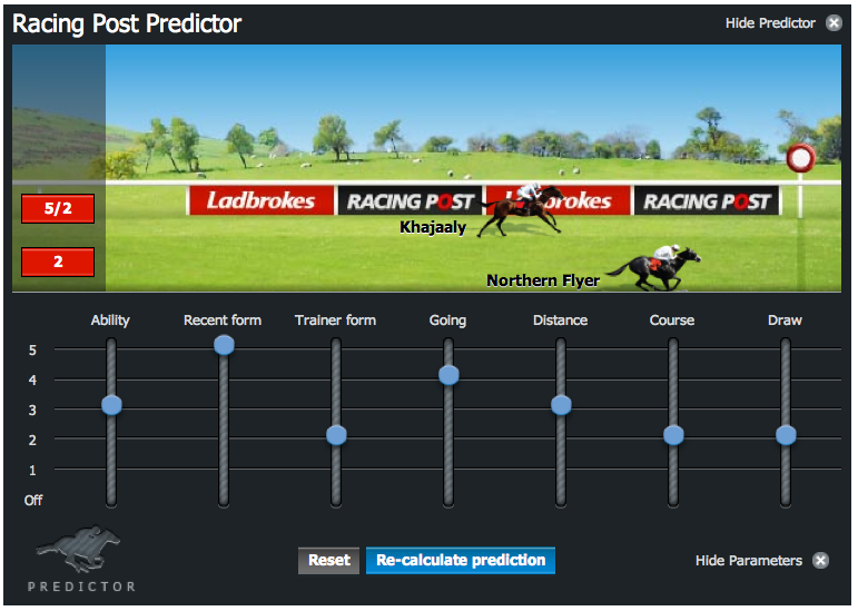 Betting Site Predictor Settings