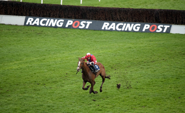 Sire de Grugy wins the Dovecote novices hurdle Kempton 26.02.2011