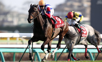Victoire Pisa wins the Nakayama Kinen (G2)