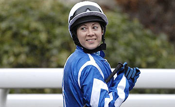 Hayley Turner - Kempton - January 7, 2009