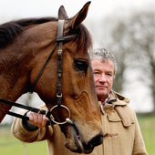 Nigel Twiston-Davies with Imperial Commander March 1, 2011