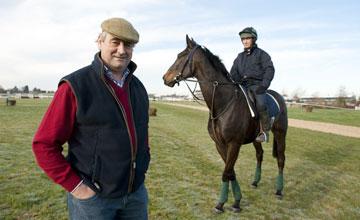 Noel Meade with Realt Dubh (Paul Carberry) - Cheltenham 14.03.11
