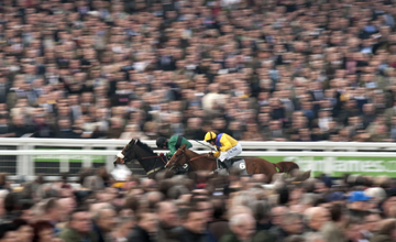 Bensalem beats Carole's Legacy in the 3m and half a furlong handicap chase Cheltenham festival 15.03.2011