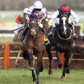 Zarkandar wins the JCB Triumph Hurdle Cheltenham 18.03.2011