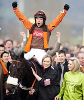 Long Run And Sam Waley-Cohen - Cheltenham Gold Cup 18.11.03