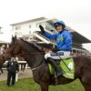 Hurricane Fly Ruby Walsh wins the Champion Hurdle from Peddlers Cross Cheltenham festival 15032011