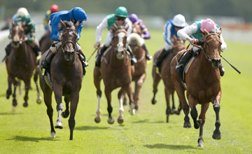 Midday Tom Queally Right Beats Sajjhaa In The Middleton Stakes York 12 5 11