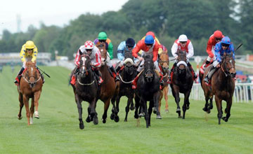 Sole Power Ridden By Keagan Latham Centre Red And White Check Cap Wins The Betfred Com