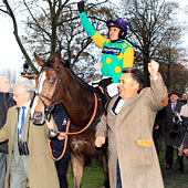 Paul Nicholls and Kauto Star