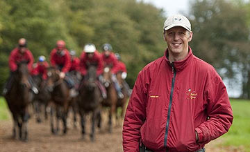David Pipe on the gallops (2011)