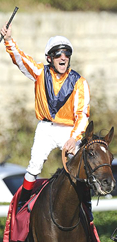 Andrasch Starke on Arc winner Danedream 02/10/11