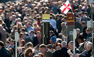 Bookmakers at Aintree