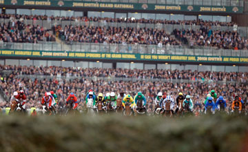 Start of the 2012 John Smith's Grand National - Aintree